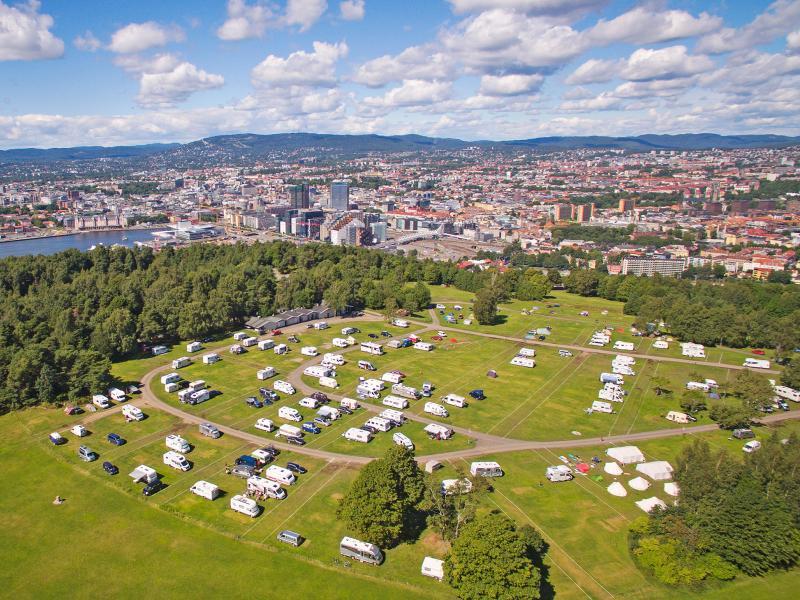Flyfoto Ekeberg Camping