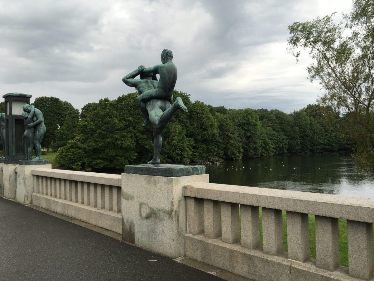 Bronseskulptur i Frognerparken