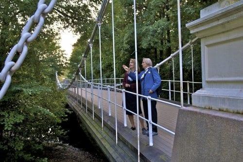 Åmodt bru er Akerselvas mest berømte bro
