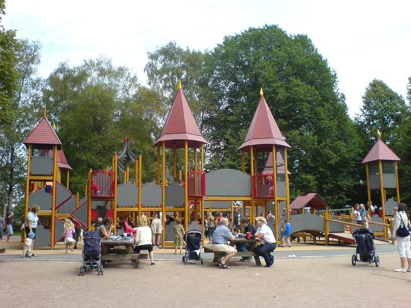 Frognerborgen Lekeplass i Frognerparken, foto: reisetoppen.com