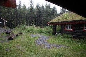 Servering i Nordmarka