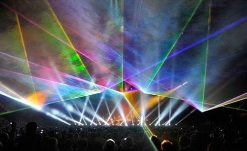 Jean Michel Jarre - konsert- pressebilde