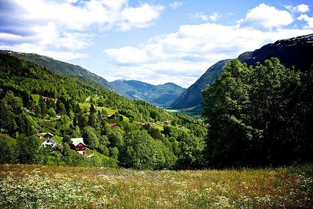 Norsk sommer. Foto: Leif Harboe / Flickr