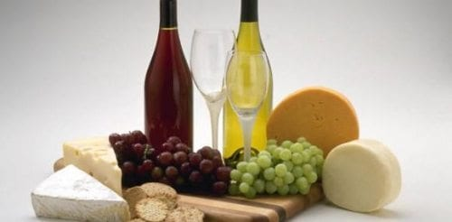 ost og vin smaking