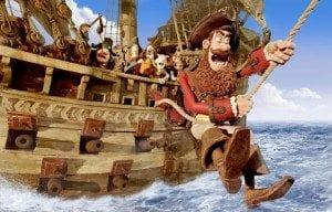 Piratene har kinopremiere i påsken