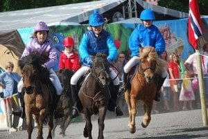 Hestesport - Ponnigalopp - Ponnigaloppkonkurranse