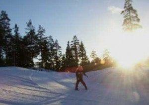 Gøy og moro på ski!