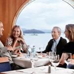 I Stena Sagas à la carte restaurant kan du nyte førsteklasses retter, inspirert av mesterkokken Arne Brimi.