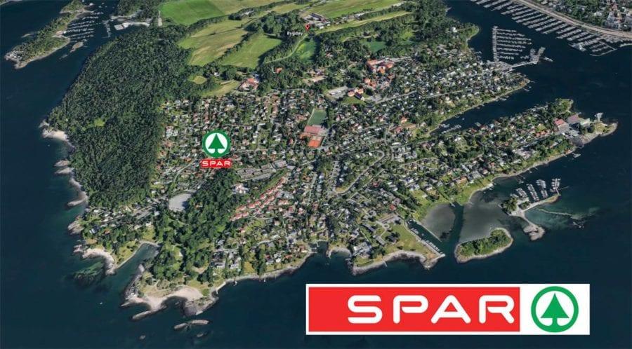 Flyfoto av Bygdøy