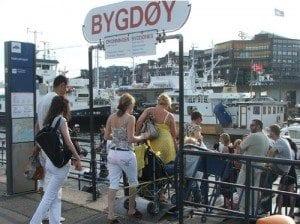 Bygdøybåt - ferge til Bygdøy i Oslo