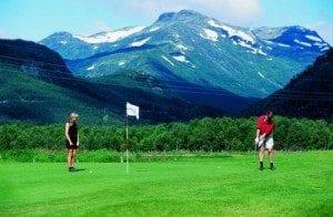 Hemsedal Golfbane, Grøndalen (foto: Hemsedal Turistkontor / Per Ervik)
