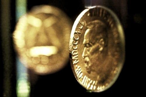 Nobelmyntene / Fredsprismedaljen - Nobels Fredspris