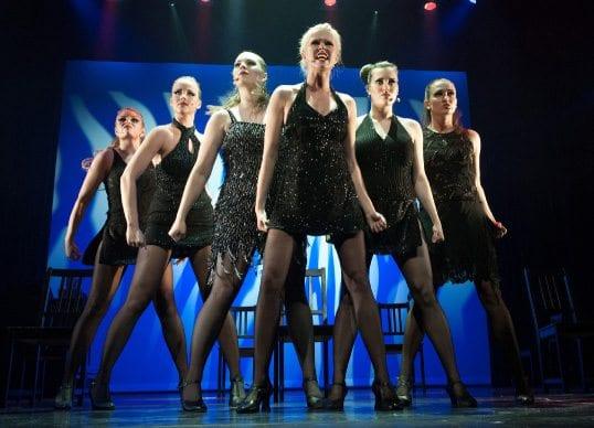 Danseforestilling med Bårdar på Chat Noir