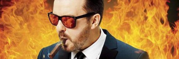 Ricky Gervais, Folketeateret 21. april