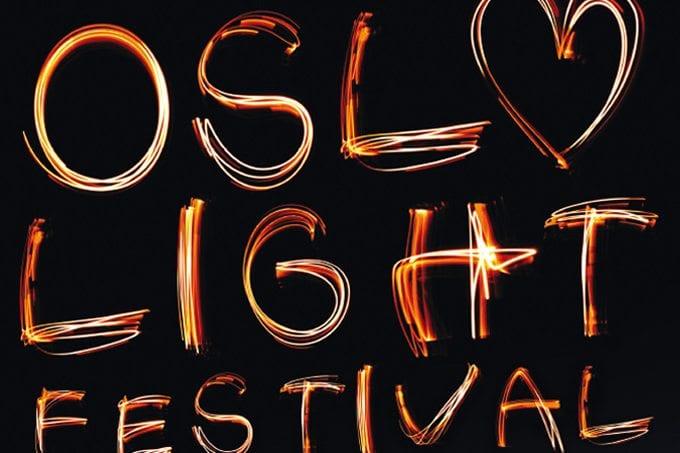 Oslo Light Festival 2012 på Tjuvholmen