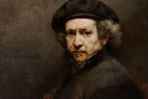 Rembrandt Selvportrett