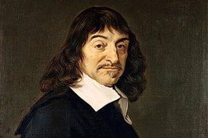 Portrett: Rene Descartes av Frans Hals