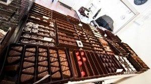 Sjokoladesmaking. Foto: Ane Charlotte Spilde
