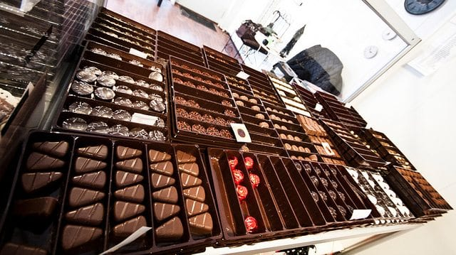 Tips til Valentines day: Sjokoladesmaking. Foto: Ane Charlotte Spilde
