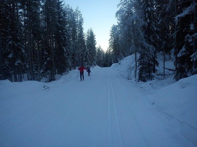 Tips til Valentines day: Skitur i marka. Foto: cbiong / Flickr
