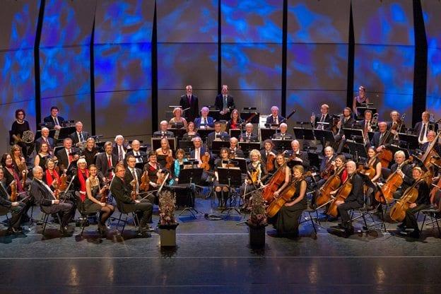 Bærum Symfoniorkester spiller i Jar kirke