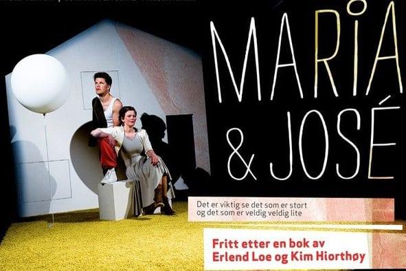 "Barneforestilling ""Maria og José"" på Bærum Kulturhus"
