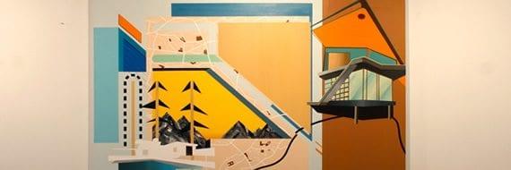 Øyvind Sørfjordmo-utstilling på Galleri Brenneriet, Strykejernet kunstskole ved Blå