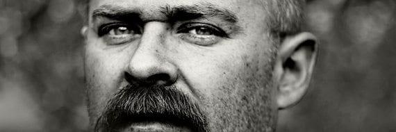 Morten Øen – samtale om kunst og undergang på Litteratur på Blå
