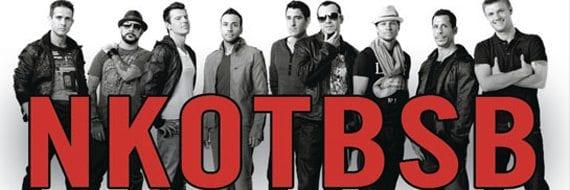 NKOTBSB spiller i Oslo Spektrum den 14. mai