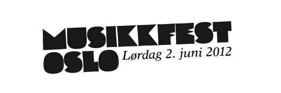 Musikkfest Oslo 2. juni 2012 - Morradi-scenen/Kontraskjæret - Program