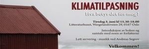 Boklansering: Klimatilpasning, hva betyr det for meg?