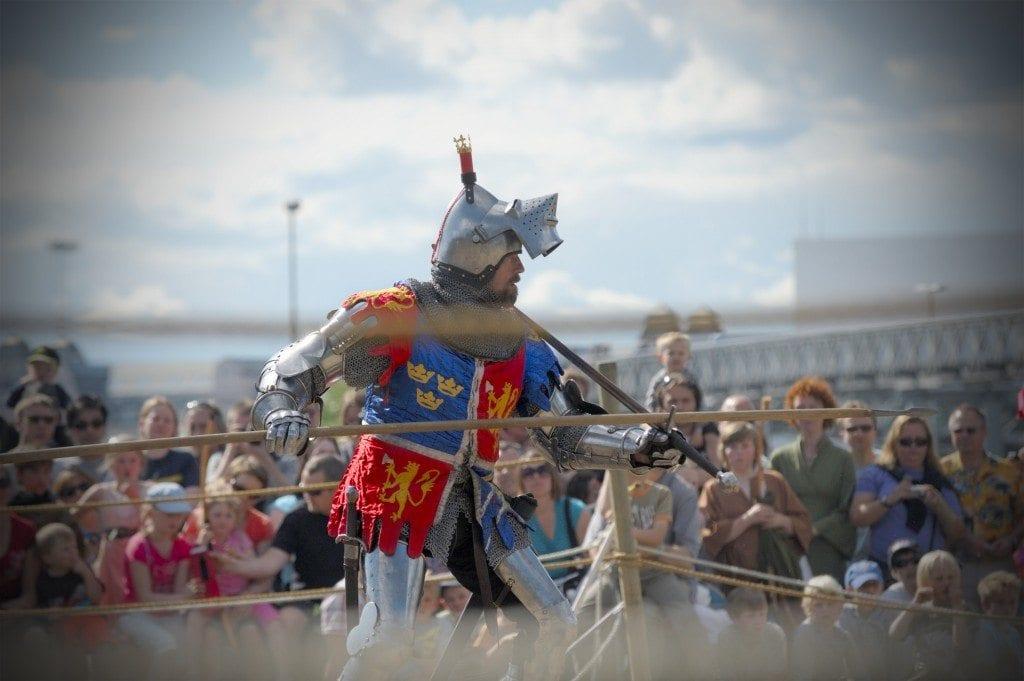 Middelalderfestivalen i Oslo er en årlig begivenhet i Middelalderparken, helgen før St. Hans.