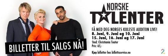 Norske talenter 2012