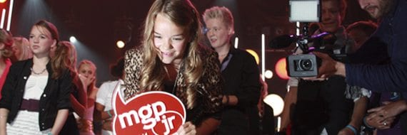 Melodi Grand Prix Junior 2011. Foto: Nrk