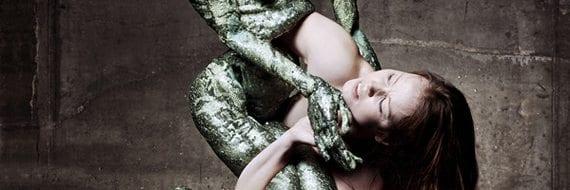 """Danseforestillingen """"Man Beast"""". Foto: Jo Michael"""