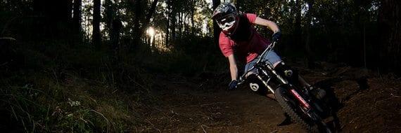 downhillsykling. Foto: Justin Dunn / Flickr