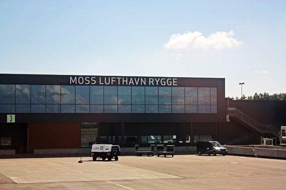 Oslos flyplasser - Moss Lufthavn Rygge