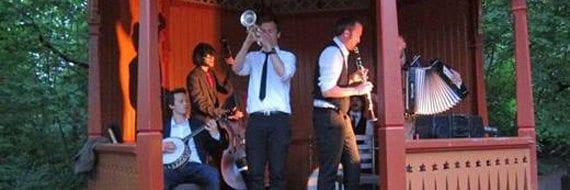 søndagscafé med jazz på Sæterhytten