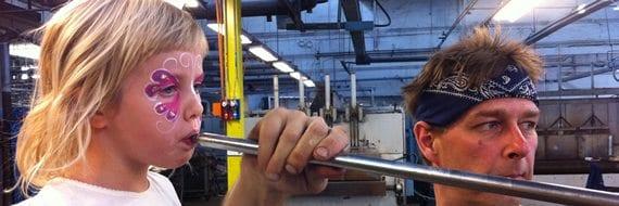 Barnas Helg på Hadeland Glassverk