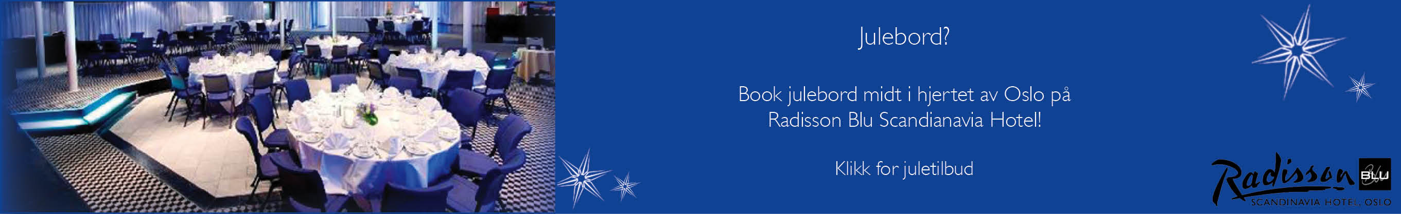 Radisson-julebordlokaler