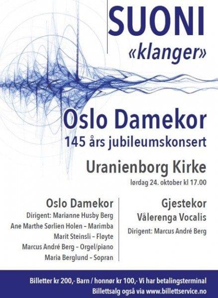 Suoni_Oslo Damekor