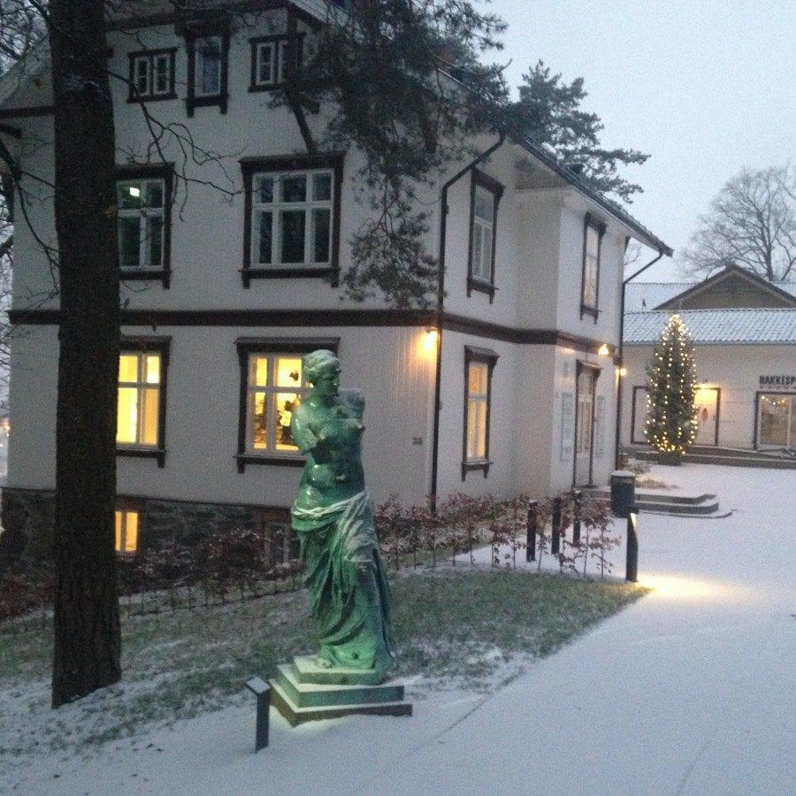 Julegrantenning i Ekebergparken hovedbilde