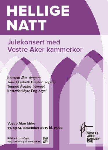 Julekonsert med Vestre Aker Kammerkor hovedbilde