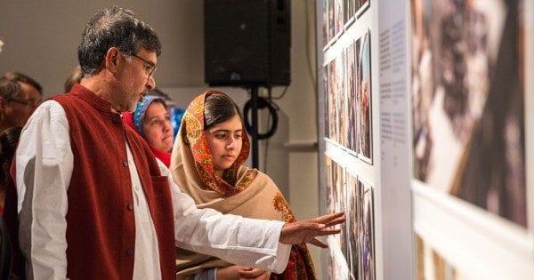 Siste mulighet! Se utstillingen om Malala og Kailash hovedbilde