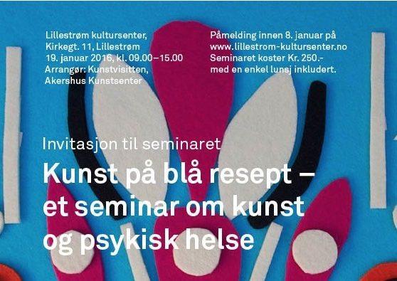 Kunst på blå resept – et seminar om kunst og psykisk helse hovedbilde