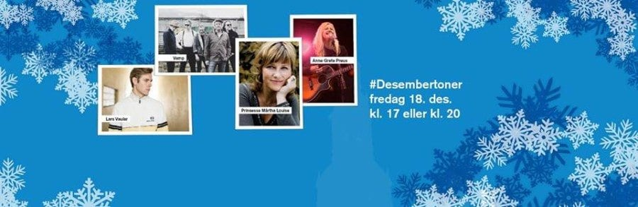 Desembertoner – Nordeas gratis julekonsert i Oslo Domkirke hovedbilde