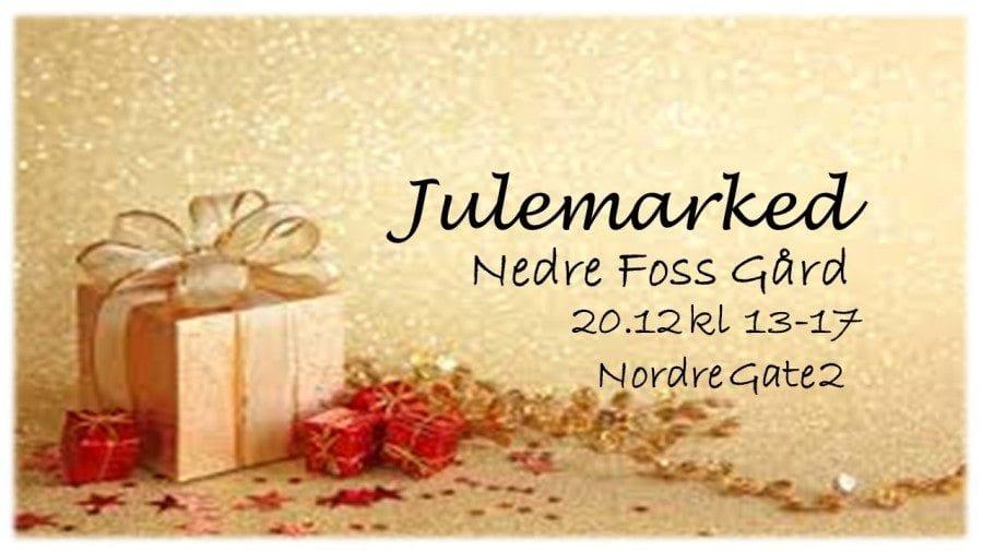 Julemarked Nedre Foss Gård på Grünerløkka hovedbilde