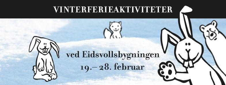 Dyrenes riksforsamling – vinterferieaktiviteter ved Eidsvollsbygningen hovedbilde