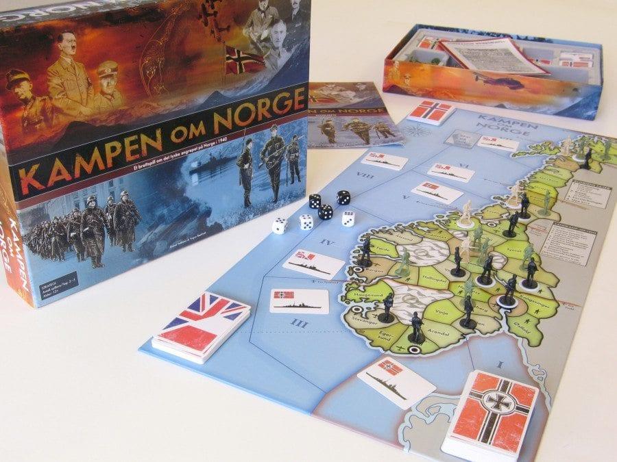 Brettspilldemo – Kampen om Norge hovedbilde