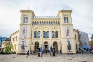The Nobel Peace Center, Oslo.  *** Local Caption *** Photo: Johannes Granseth / Nobel Peace Center